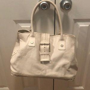 Michael Michael Kors white handbag